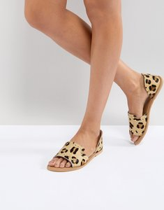 Read more about Asos jovena leather summer shoes - leopard