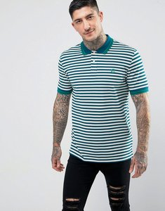 Read more about Ps paul smith slim fit twin tipped ps logo polo shirt in teal - teal