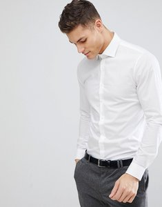 Read more about Michael kors slim easy iron smart shirt in white - white