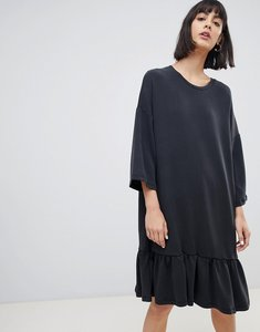Read more about Selected femme soft touch shift dress - black