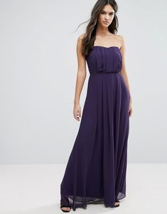 Read more about Adelyn rae strapless maxi dress - eggplant