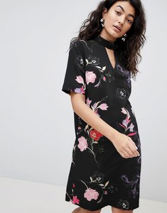Read more about B young printed high neck dress - combi 1