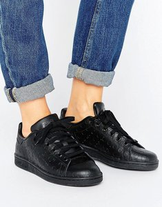 Read more about Adidas stan smith trainers - cblack utiblk