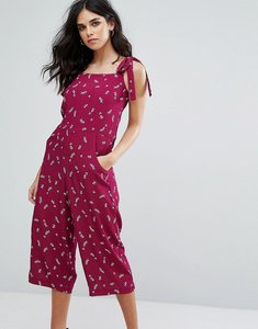 Read more about Little white lies eleonore jumpsuit - burgundy print