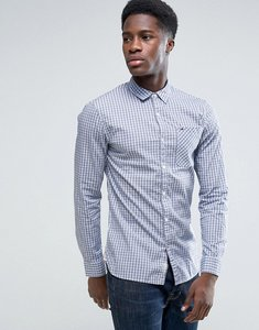 Read more about Tommy hilfiger denim gingham shirt in slim fit - true blue multi