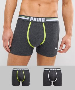 Read more about Puma 2 pack boxer - grey