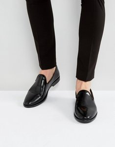 Read more about House of hounds anton patent loafers in black - black