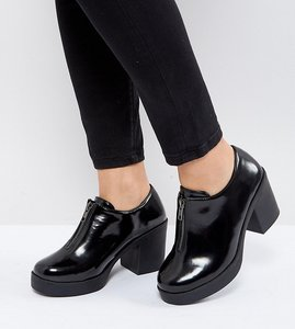 Read more about Asos welcome wide fit heels - black