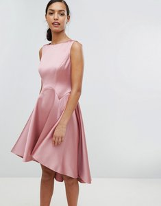 Read more about Ted baker tie the knot sculpted skater bridesmaid dress - pink