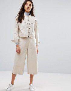 Read more about Native youth wide leg culottes co-ord - oatmeal