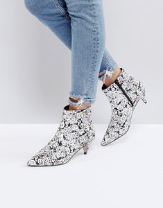Read more about Asos x the emoji movie ankle boots - multi