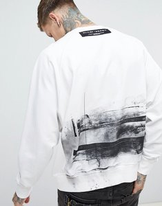 Read more about Religion oversized sweatshirt with back print - white