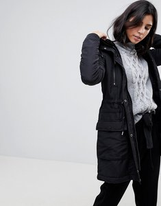 Read more about Y a s calvein parka coat - black