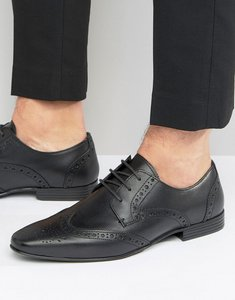 Read more about Kg by kurt geiger kenford brogue derby shoes - black