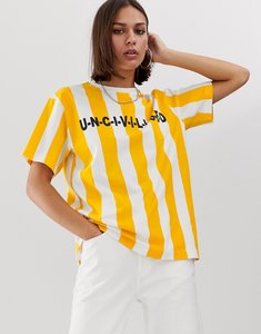 Read more about Uncivilised stripe logo t-shirt