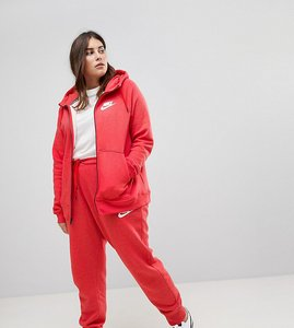 Read more about Nike plus rally cuffed sweat pants in red - red