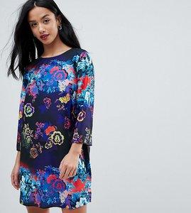 Read more about Asos petite floral print mini shift dress - floral