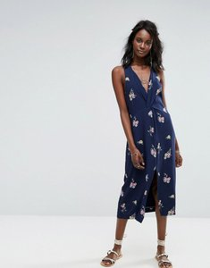 Read more about Majorelle twist front dress - navy floral