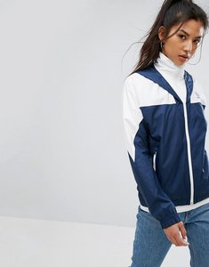 Read more about Reebok classics windbreaker jacket in navy - collegiate navy
