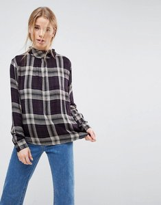 Read more about B young plaid blouse - multi combi1