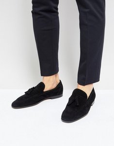 Read more about Kurt geiger london danza suede loafers - black