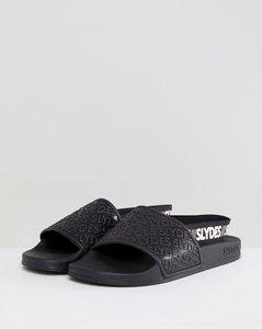Read more about Slydes roamer logo strap sliders in black - black