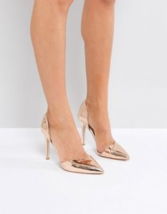 Read more about Miss kg christy point toe point high heels - high shine rose gold