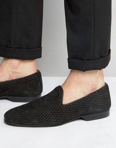 Read more about House of hounds hounds logo loafers - black