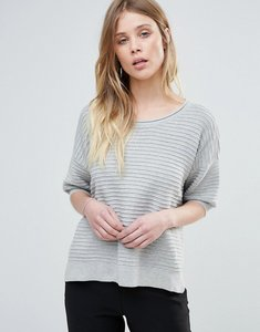 Read more about French connection heatwave dinka relaxed jumper - light grey mel