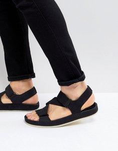 Read more about Clarks originals ranger nubuck sandals in black - black