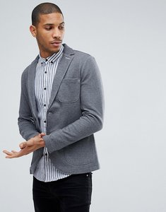 Read more about Tom tailor blazer in charcoal marl jersey - 2652