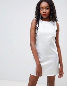 Read more about Glamorous metalic shift dress - silver metallic