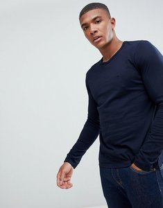 Read more about French connection crew long sleeve top - navy