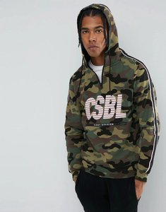 Read more about Cayler sons hoodie in camo with half zip - camo