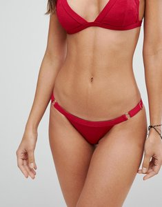 Read more about Somedays lovin deep pink cheeky bikini bottoms - pink