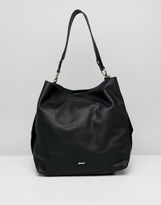 Read more about Paul costelloe real leather slouch shoulder bag - black