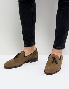 Read more about House of hounds bain tassel loafers in khaki - green