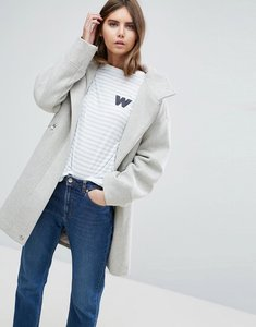 Read more about Asos parka with formal styling - grey