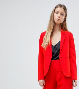 Read more about Asos petite the tailored blazer mix match - red