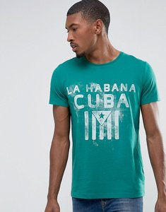 Read more about Esprit t-shirt with graphic print - green 306