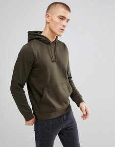 Read more about Bravesoul basic overhead pocket hoody - green