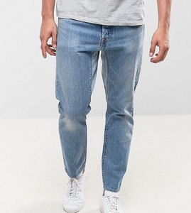 Read more about Levis gusset tapered altrd better jeans custom light wash - reverse custom