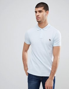 Read more about Ps paul smith slim fit zebra logo polo in sky blue - 40