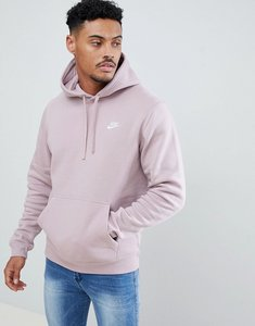 Read more about Nike pullover hoodie with swoosh logo in pink 804346-684 - pink
