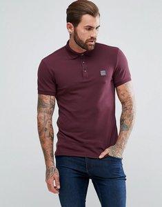 Read more about Boss orange by hugo boss pavlik slim fit polo shirt in burgundy - burgundy 640