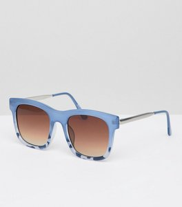 Read more about Pieces pastel frame square sunglasses - bering sea-turtle