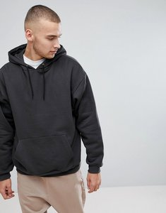 Read more about Asos oversized hoodie in washed black - bal