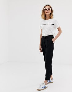 Read more about Vero moda high waist trouser in black