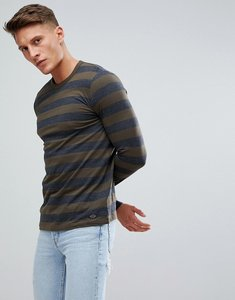 Read more about Esprit long sleeve t-shirt with wide stripe - grey 200