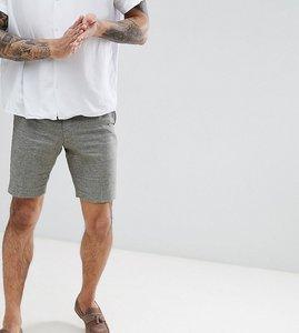 Read more about Heart dagger smart shorts in linen - khaki